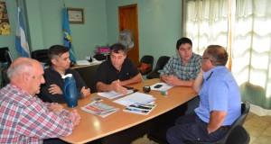 Ministro williams en El Hoyo