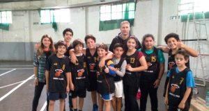 Mini basquet el Hoyo