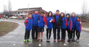 Delegacion atletismo El Hoyo