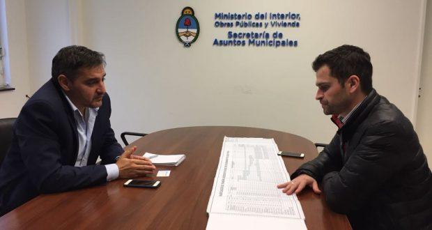 Municipio de lago puelo present en el ministerio del Comunicado ministerio del interior